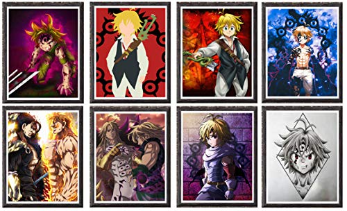 póster anime de la marca MY Art