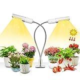 50w LED Plant Light, 100 LED Super Bright Sunlike Full Spectrum Grow Bulb para plantas de interior, Plant Grow Lamp with Reemplazable E27 / E26 Bulb, perfecto para plántulas Florecimiento de frutas
