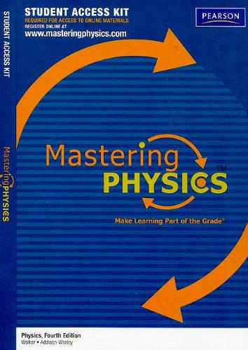 MasteringPhysics Student Access Kit for Physics (Mastering Physics (Access Codes))