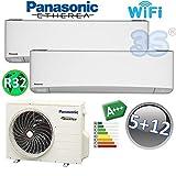 Klima DUO Split raumklimagerät R32 PANASONIC WiFi Klimaanlage 1