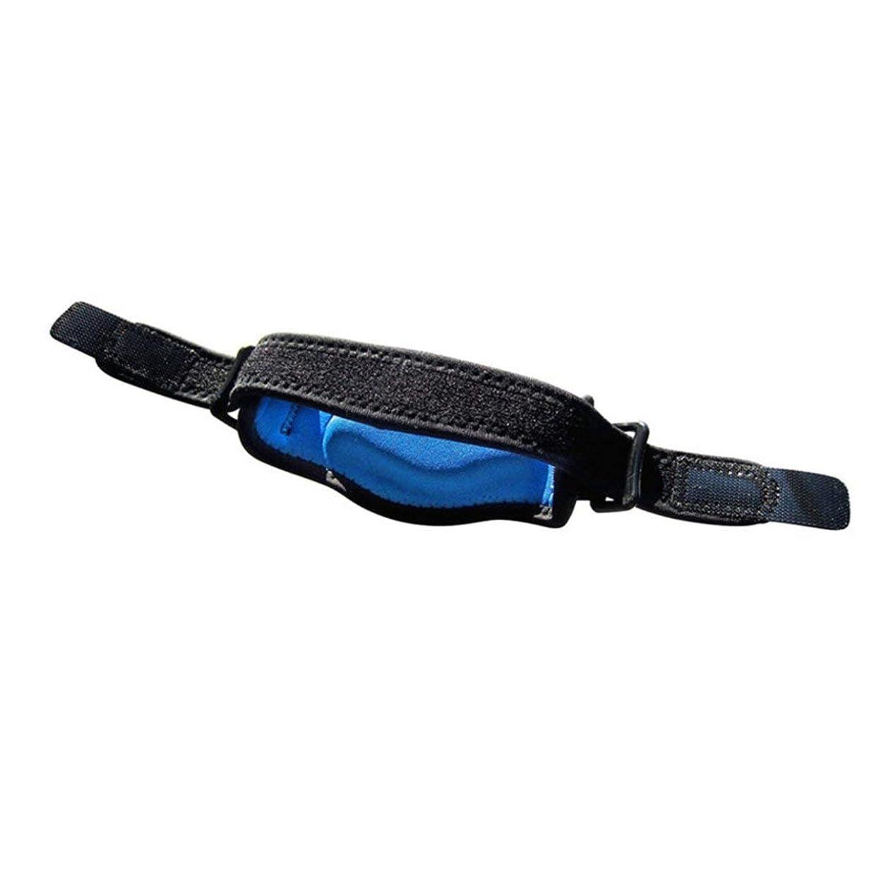 ジョージエリオット姓のヒープ調節可能なテニス肘サポートストラップブレースゴルフ前腕痛み緩和