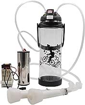 livestocktool.com Portable Pulse Milking Machine 3L/0.8 Gallon Double Head Milker for Sheep Goat Cow Milking Kit (Cow, Black)