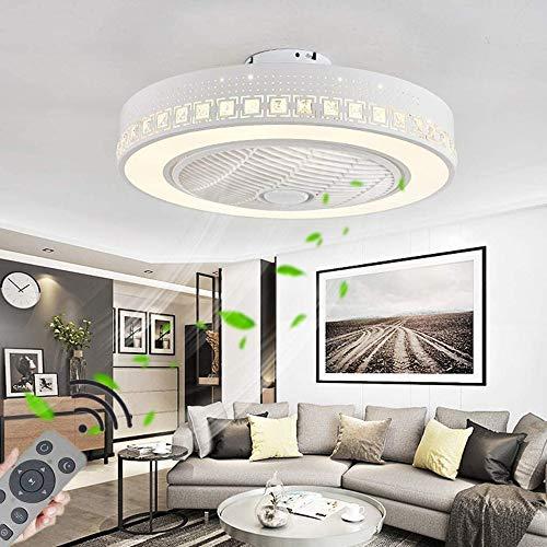 TGRBOP Deckenventilator Mit LED-Licht, Deckenventilator Mit Lampe, Mit Fernbedienung 72W Moderne LED Dimmable Deckenleuchte, Einstellbare Wind SpeedRestaurant Schlafzimmer Dekoration Indoor Fan Beleuc