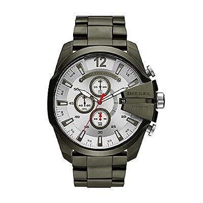Diesel Relojes para Hombre Mega Chief Verde IP Watch