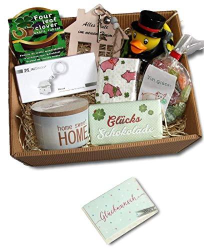 Umzug Geschenke | Einzug Geschenke Korb | Umzugsgeschenke | Home Sweet Home | Einweihungsparty Wohnung Haus Geschenke | Geschenkidee Umzug | Richtfest Geschenkkorb