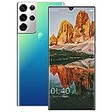 GELEI 5G Smartphone Dual Sim Deca-Core Moviles Libres Android 11, 6.9' HD Screen, Dual Cámara 32+64MP, batería masiva de 6800mAh, 256 GB de ROM, 6 GB de RAM,Azul