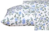Ruvanti 100% Cotton 3 Pcs Flannel Sheets Twin XL-Deep Pocket, Warm, Super Soft,Breathable,Moisture Wicking Twin XL Size Flannel Kids Bedding Sheets Set Include Flat Sheet, Fitted Sheet & 1 Pillow Case