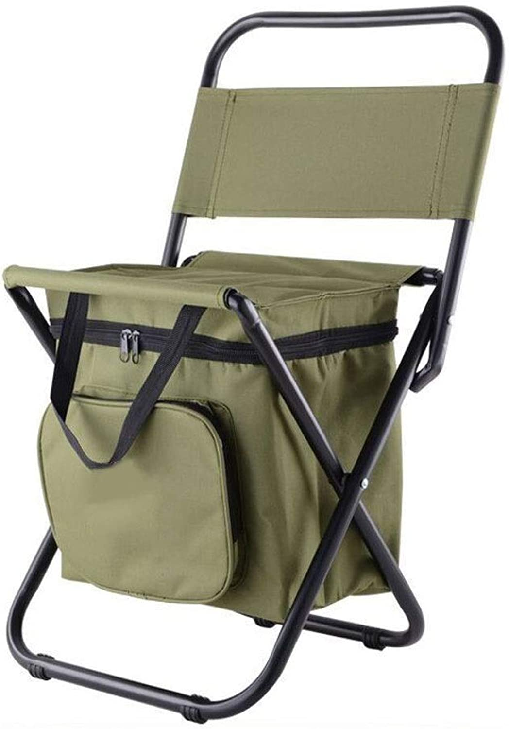 Folding Camping Chair, Portable Chair, Simple Mazar Multifunctional Insulation Ice Bag Stool