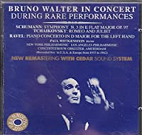 Sym.3 / Ravel: Concerto For Lefthand: ヴィトゲンシュタイン / Walter / Nyp, Aco, ,