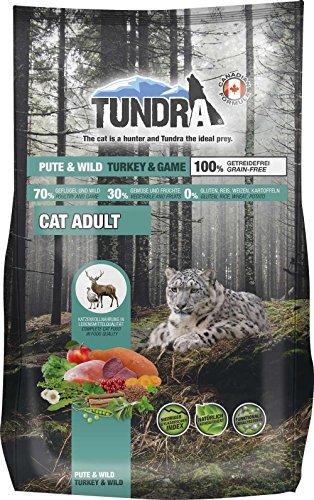 Tundra Katzenfutter getreidefrei Pute u. Wild - Turkey u. Game 1,45 kg