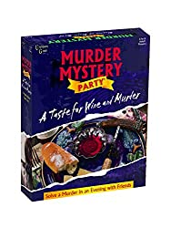 A Taste for Wine and Murder - Murder Mystery Game