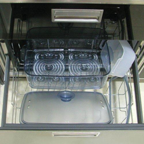 Morphy Richards 48775 Intellisteam Compact Food Steamer 6L Digital Display White Electric Food Steamer, Black
