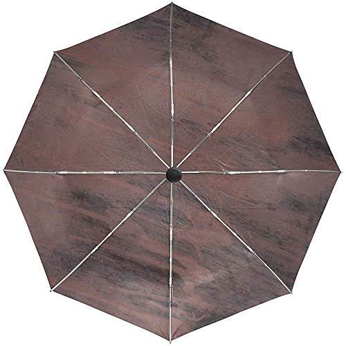 Paraguas automático Superficie Manchas Líneas Viaje Conveniente A Prueba de Viento Impermeable Plegable Automático Abrir Cerrar