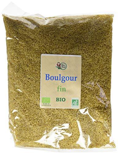 RITA LA BELLE Boulgour Fin BIO 1 kg - Lot de 3