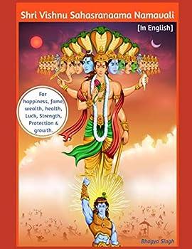 Paperback Shri Vishnu Sahasranaama Namavali: [In English-Special Edition] For happiness, fame, wealth, health, Luck, Strength, Protection & growth. Book