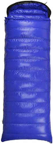 Qys Enveloppe Ultra-Léger De Plein Air Portable Duck Down Sac De Couchage Adulte Imperméable Coupe-Vent Garder Au Chaud,Sapphire,1.5Kg