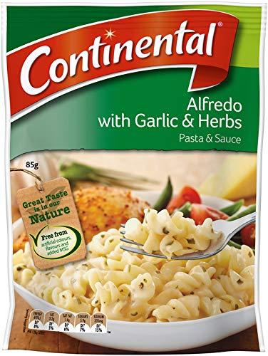 Pasta Continental y Salsa Alfredo Ajo Hierba 85gm