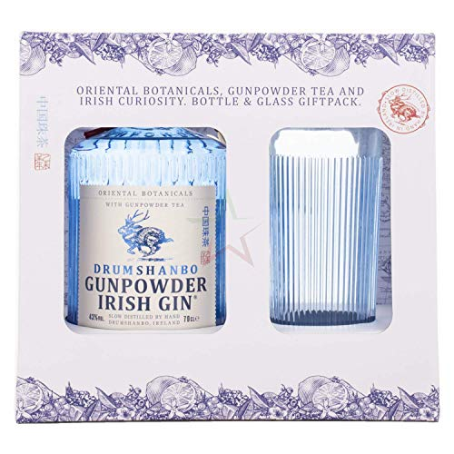 Drumshanbo Gunpowder Irish Gin mit Glas 43,00% 0,70 lt.