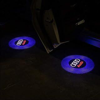rot//wei/ß Audi 4G0052133J Einstiegsleuchten LED Projektor S-Logo Raute Einstiegsbeleuchtung Projektion
