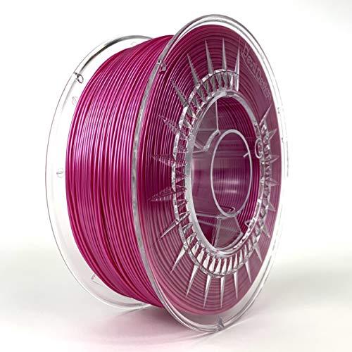 Devil Design | Filament | PLA PINK PEARL | 1.75 | 1kG | für Anfänger und Fortgeschrittene | Top Haftung | wenig Stringing | leicht zu drucken | verzugsarm und geruchslos