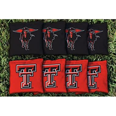 8 Texas Tech TTU Red Raiders Regulation Corn Filled Cornhole Bags