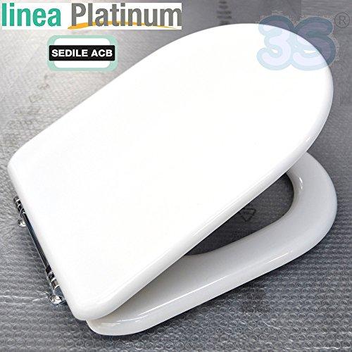 Sedile compatibile con CLODIA di Ceramiche dolomite 'Prodotto non originale' - marca ACB linea PLATINUM