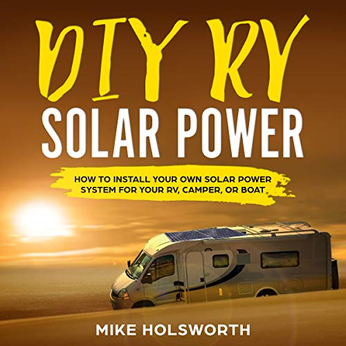 DIY RV Solar Power audiobook cover art