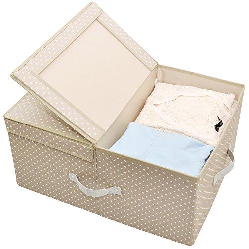Caja de almacenamiento con dos compartimientos