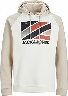 Jack & Jones Men's JCOSTAR SWEAT HOOD JAN LTN Sweatshirt