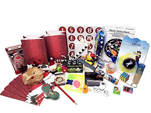 Fertiger Adventskalender inkl. 24 Geschenken für Jungen - Adventskalenderfüllung