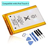 DDS-DUDES Internal 930mAh Replacement Battery for iPod Touch 4th Generation + Repair Toolkit