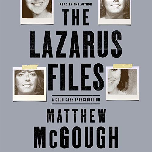 The Lazarus Files audiobook cover art