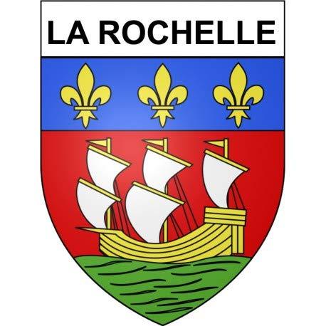 Bearn La Rochelle 17 Ville Sticker Wappen selbstklebend 12 cm
