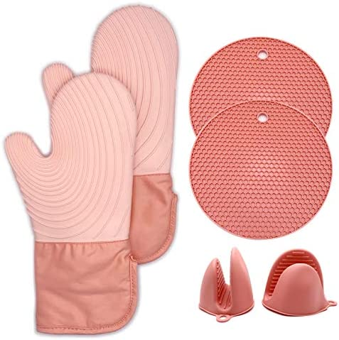Oven Mitts Silicone Oven Mitts are Suitable for Microwave ovens ovens Pot Holders Oven Mitts product image