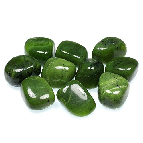 CrystalAge Jade Tumble Stone (20-25mm) - Pack of 5