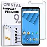 REY Protector de Pantalla para VERNEE M6, Cristal Vidrio Templado Premium