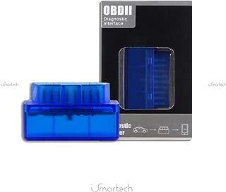 1neiSmartech Instrumento Diagnóstico Mini EscánerInterfaz De Diagnóstico Obdii Auto Bluetooth 2.1