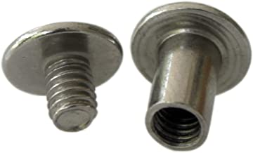 3/8 inch Stainless Steel Chicago Screws Screw Posts 36 Sets