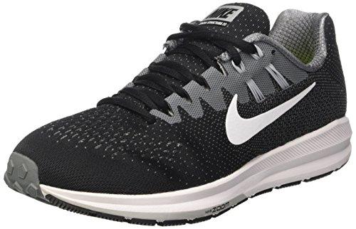 Nike Nike Air Zoom Structure 20 - black/white-cool grey-wolf gre, Schwarz (Black/cool Grey/wolf Grey/white), 38.5 EU