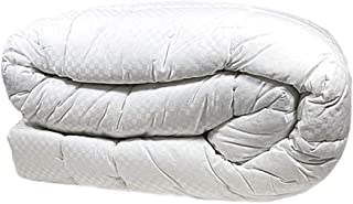 Nikken 1 Thicker Queen/Full White Comforter 1265 - Deeper Sleep, Less Pain, More Flexibility, Temperature Regulating, Hypoallergenic, Hotel Quality Duvet Insert, Weighted Blanket Throw Quilt