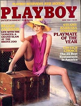 Playboy Magazine Steamy Barbara Edwards June 1984