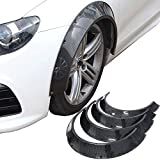Kyostar New School 4pcs 840mm Universal Carbon Fiber Look Fender Flares Wheel Arch Extensions Wide Body Set