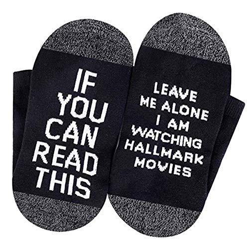 Funny Saying Socks If You Can Read This Novelty Socks Funny Socks Christmas Cotton Socks for Men Womens