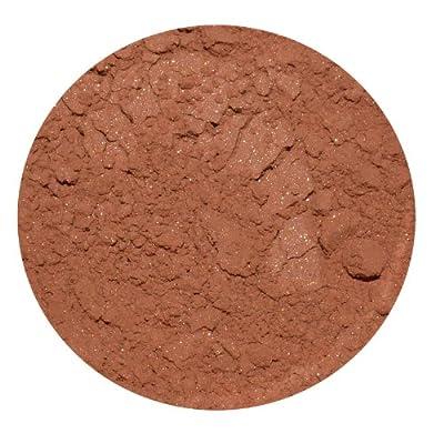 Aubrey Organics, Silken Earth, Powder Blush, Bronzed Peach, 3 g