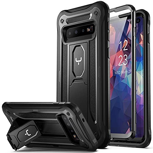 YOUMAKER Kickstand Case for Galaxy S10 Plus, Built-in Screen Protector...