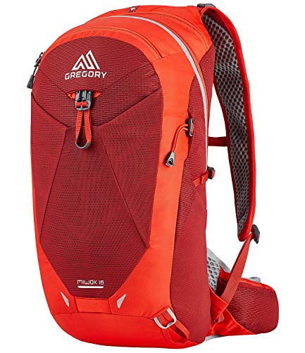 Gregory Mountain Products Miwok 18 Liter Men's Daypack , Vivid Red