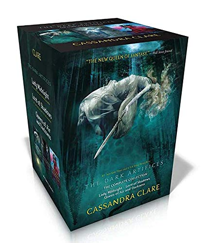 The Dark Artifices Complete Collection 3 Bücher-Box-Set (Lady Midnight; Lord of Shadows; Queen of Air and Darkness)