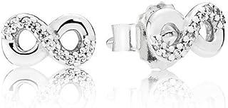 comprar comparacion Pandora Pendientes de botón Mujer plata - 290695CZ