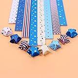 160PCS origami papel raya plegable lucky star año nuevo regalo hecho a mano estrella regalo decoración creativa origami papel artesanías