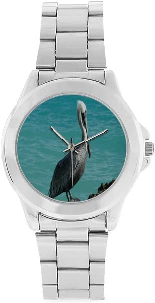 Unisex Stainless Steel Watch Sale SALE% OFF Special Campaign Pelican bird Design